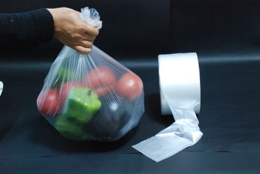China Perforated Plastic Produce Bags High Density Waterproof Tough Bottom supplier