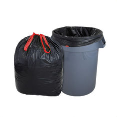 China Large Polyethylene Trash Bags , Garbage Compactor Bags For Industrial Use supplier